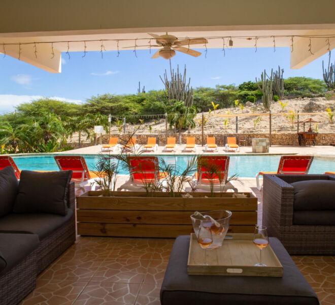 Hillside apartments Bonaire - -4360