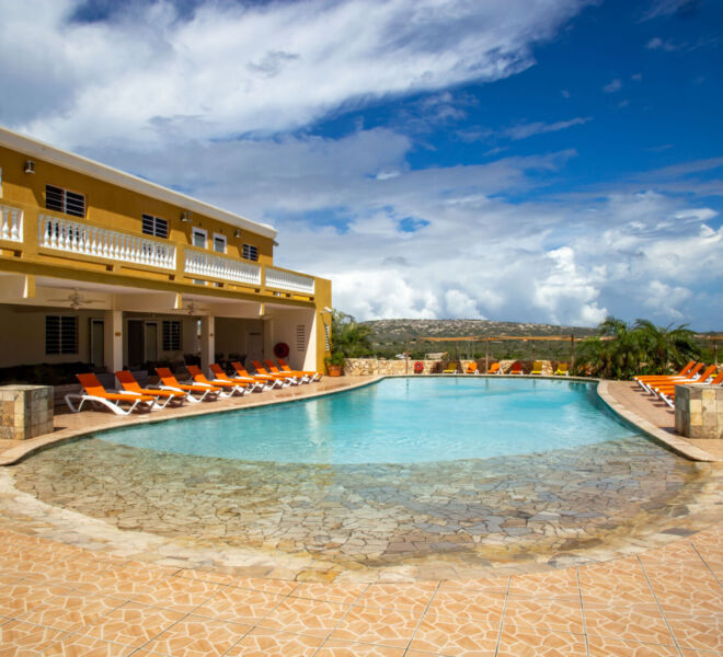Hillside apartments Bonaire - -4363