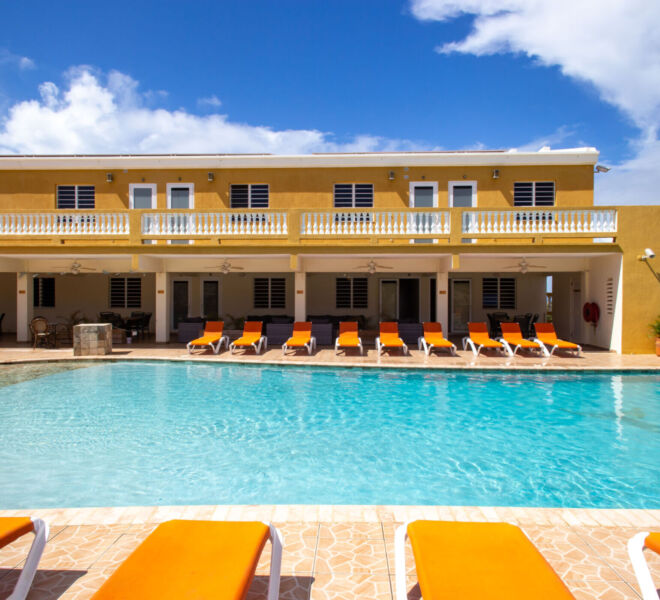 Hillside apartments Bonaire - -4367