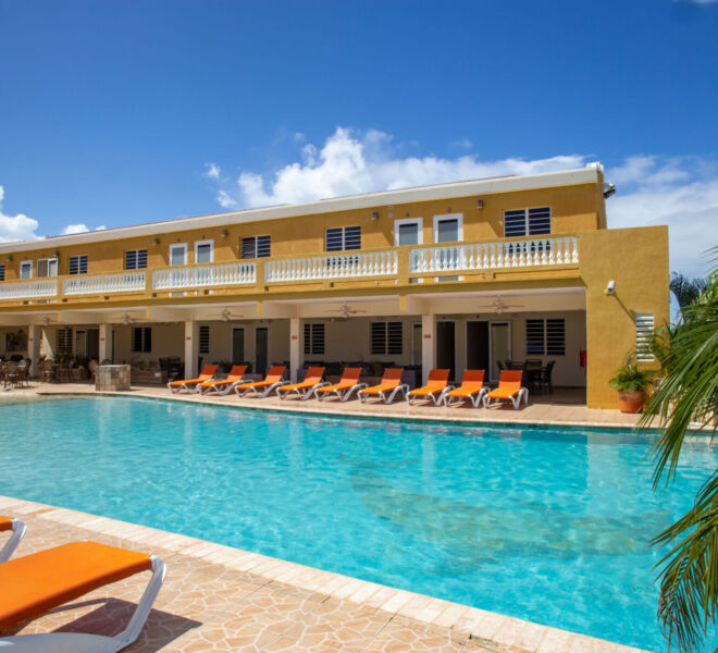 Hillside apartments Bonaire - -4368