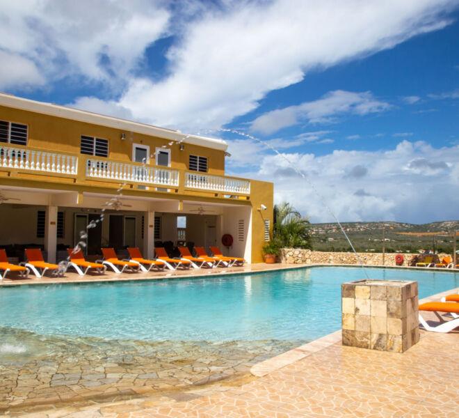 Hillside apartments Bonaire - -4373