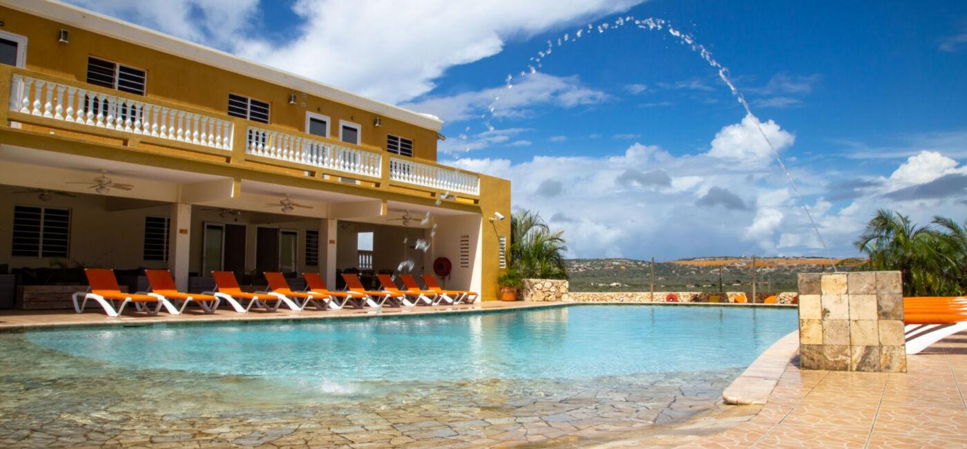 Hillside apartments Bonaire - -4374