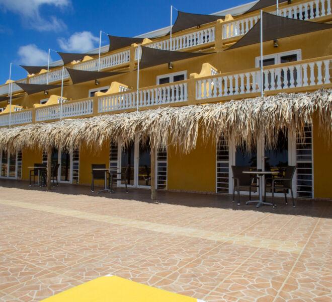 Hillside apartments Bonaire - -4457