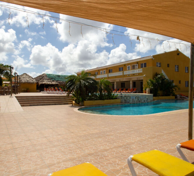 Hillside apartments Bonaire - -4459