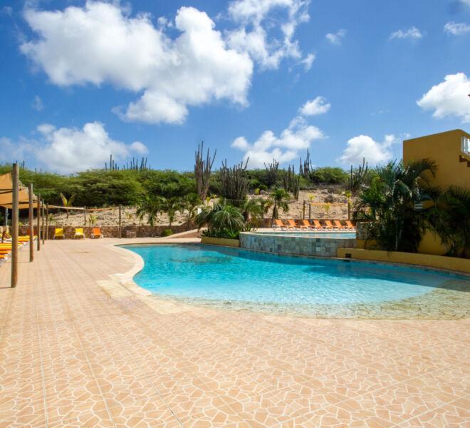 Hillside apartments Bonaire - -4463